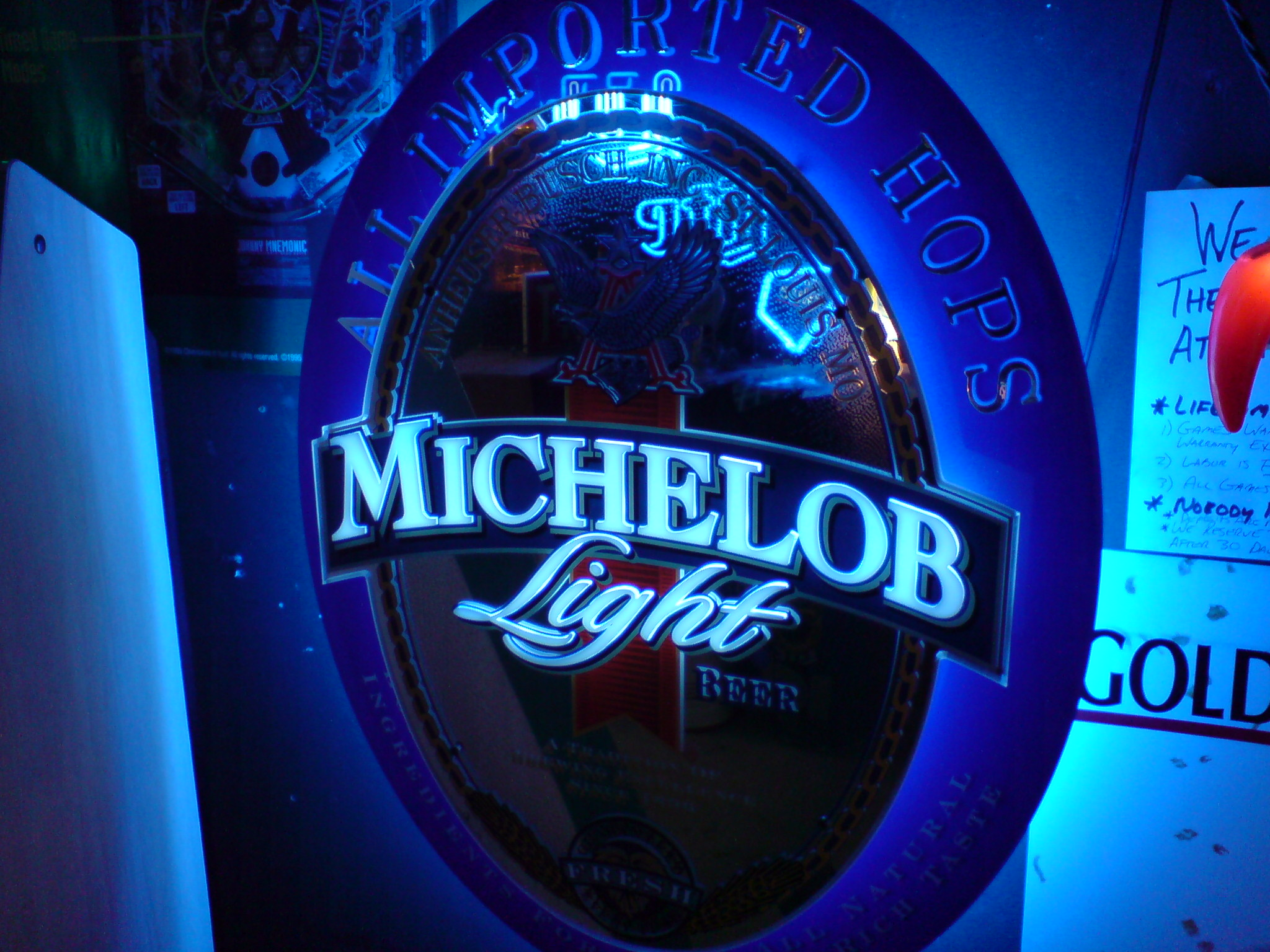 Michelob Light Neon