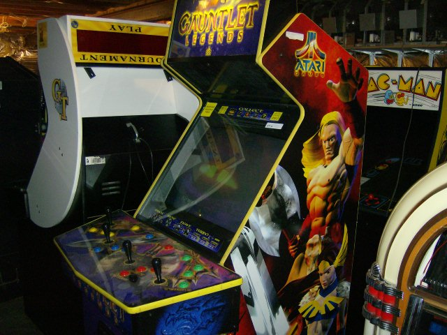 Gauntlet Legends, Golden Tee, and Pac-Man