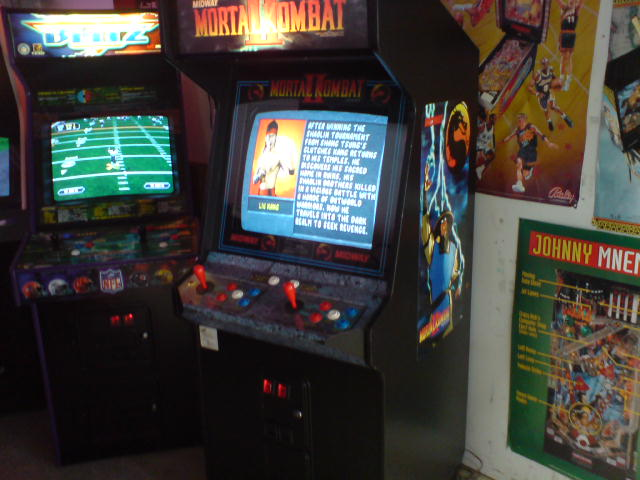 NFL Blitz and Mortal Kombat 3