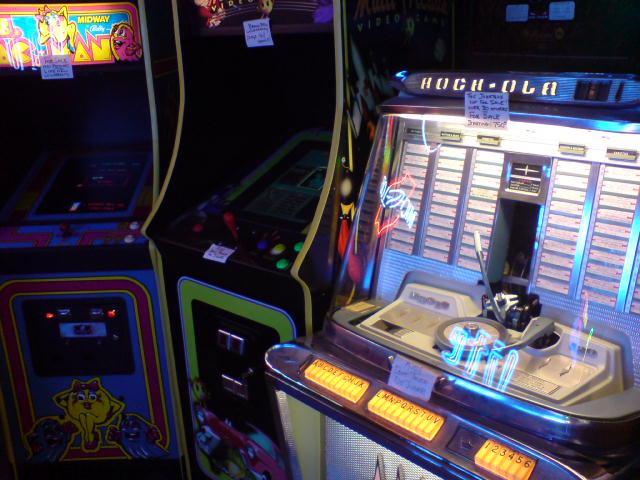 Ms. Pac-Man, Multi-Arcade Multi-Game, and Rock-Ola Regis