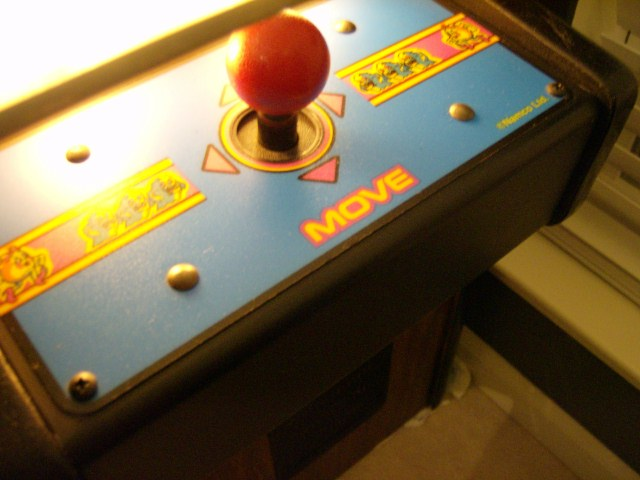 Ms. Pac-Man Control Panel (2 Player Sit-Down)