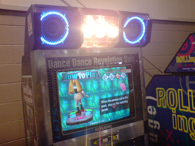 Dance Dance Revolution Solo